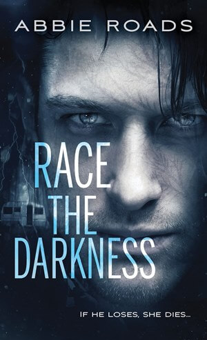 One (1) print ARC of Race the Darkness by Abbie Roads