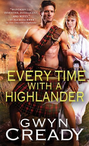 5 Copies of Gwyn Cready's Just in Time for a Highlander