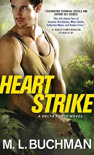 One (1) print copy of HEART STRIKE by M.L. Buchman (US Only)