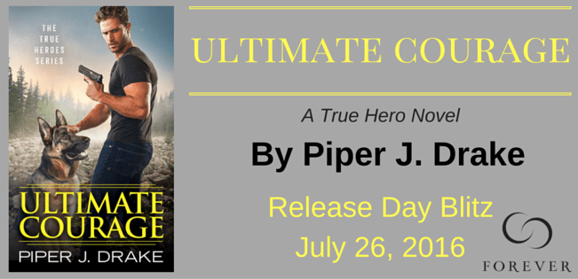 Ten (10) mass market copies of ULTIMATE COURAGE by Piper J. Drake