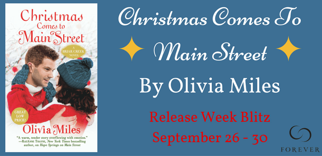 Ten (10) mass market copies of CHRISTMAS COMES TO MAIN STREET by Olivia Miles