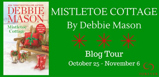 Fifteen (15) mass market copies of MISTLETOE COTTAGE by Debbie Mason