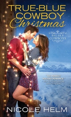 5 finished copies of True-Blue Cowboy Christmas