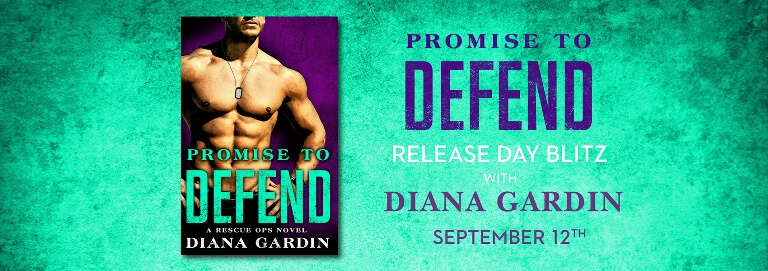 Win 1 of 15 FREE ebook downloads of PROMISE TO DEFEND by Diana Gardin