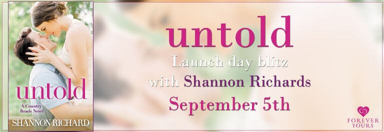 Enter to win 1 of 15 ebook downloads of Untold