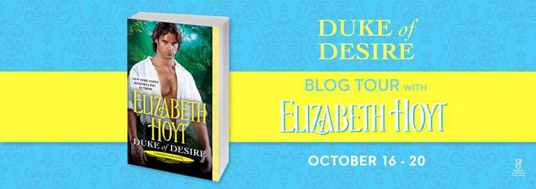 Win 1 of 10 paperback copies of DUKE OF DESIRE by Elizabeth Hoyt.