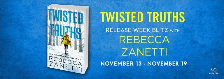 Win 1 of 10 paperback copies of TWISTED TRUTHS by Rebecca Zanetti.