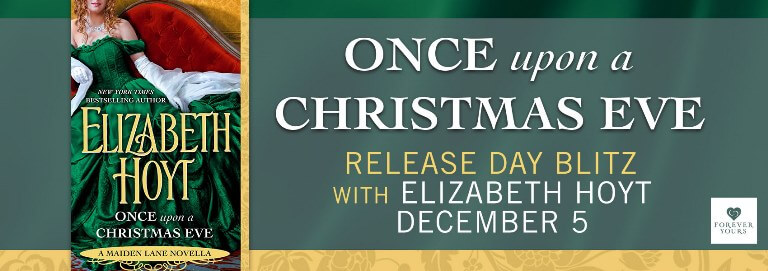 Win 1 of 15 FREE ebook downloads of ONCE UPON A CHRISTMAS EVE by Elizabeth Hoyt.