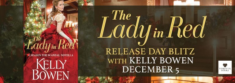 Enter to win 1 of 15 free ebook downloads of The Lady in Red!